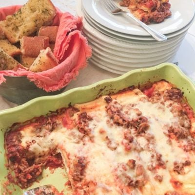 Easy Manicotti Recipe Video Tutorial