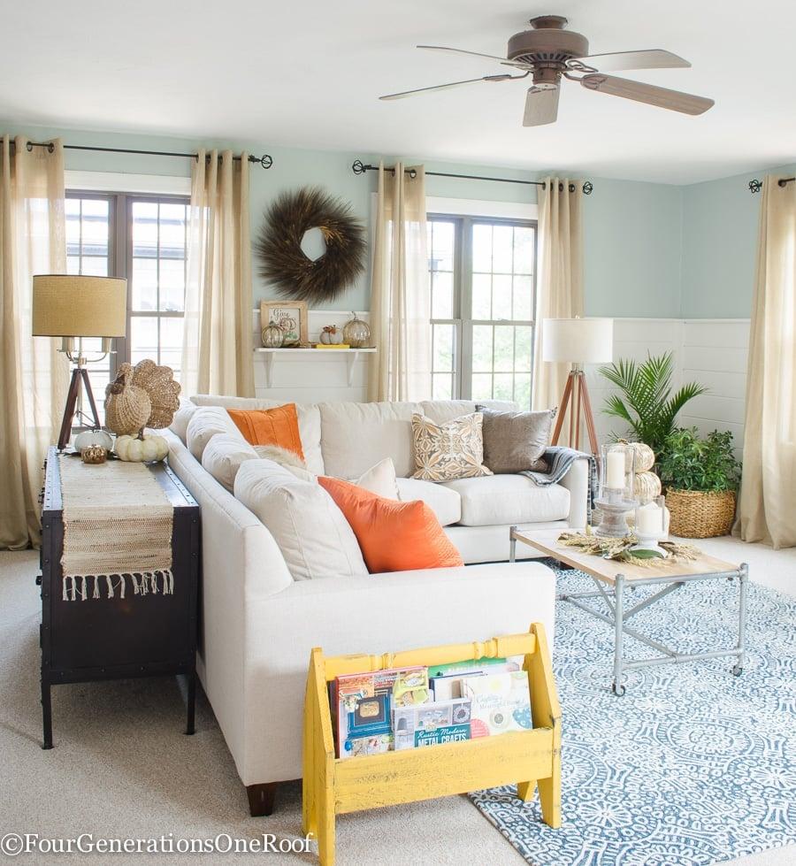 Fall Home Decorating Ideas: Beautiful Fall Decorating Ideas {Fall Home Tour 2016