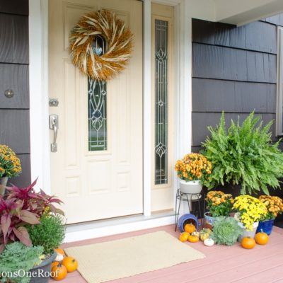 Fall Home Tour 2016 + $100 HomeGoods Giveaway {Day 2}