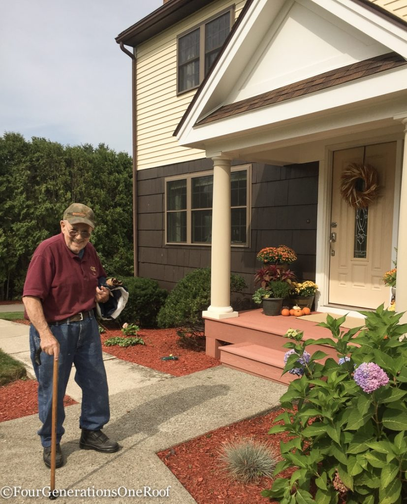 Moving the furniture down the street {dementia diaries}