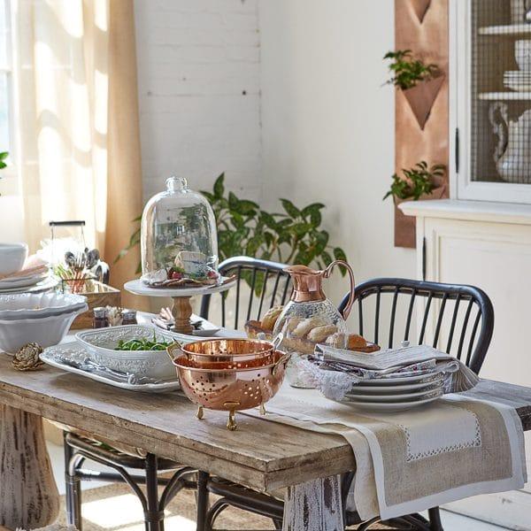 Modern Farmhouse Dining Room {HomeGoods photoshoot}