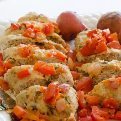 Yummy turkey meatloaf recipe
