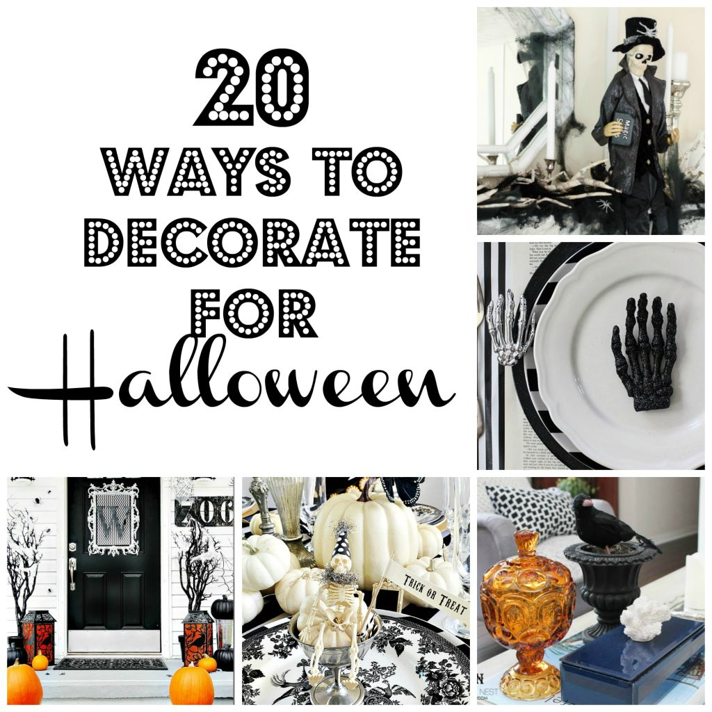 20-ways-to-decorate-for-halloween / halloween-ideas-our-home-Halloween Home Tour 2016 / Four Generations One Roof