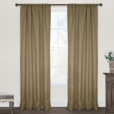 My favorite burlap curtains