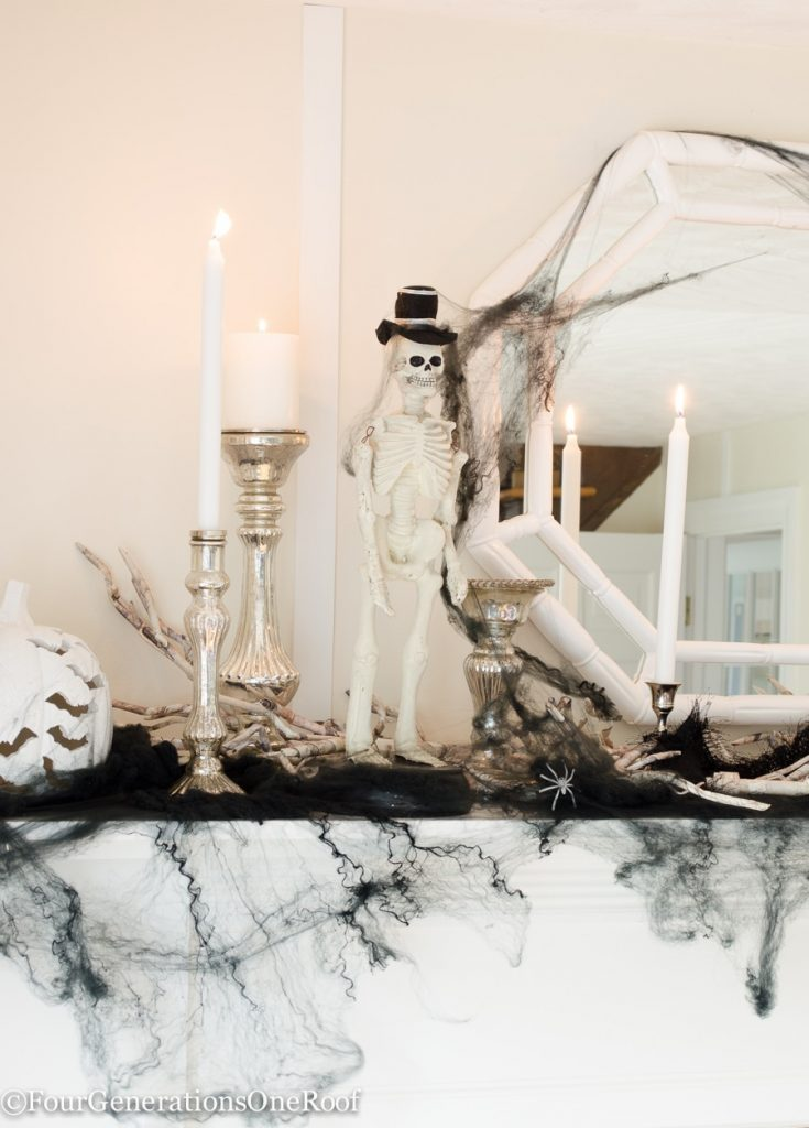halloween-ideas-our-home-Halloween Home Tour 2016 / Four Generations One Roof