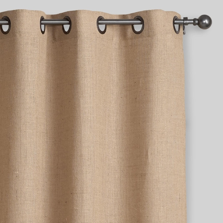 Favorite Burlap Curtains