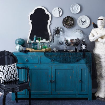 Halloween Cocktail Entertaining + Video {HomeGoods Shoot}