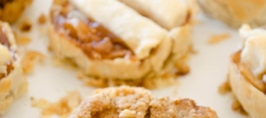 Mini Apple Pie Recipe + Crisp Topping