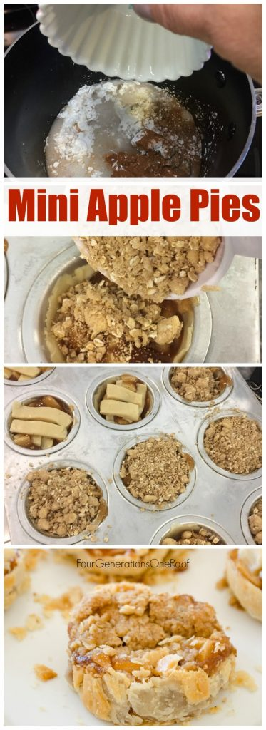 Mini Apple Pie + Mini Apple Crispt Recipe