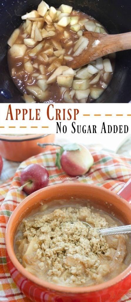 no-sugar-added-apple-crisp