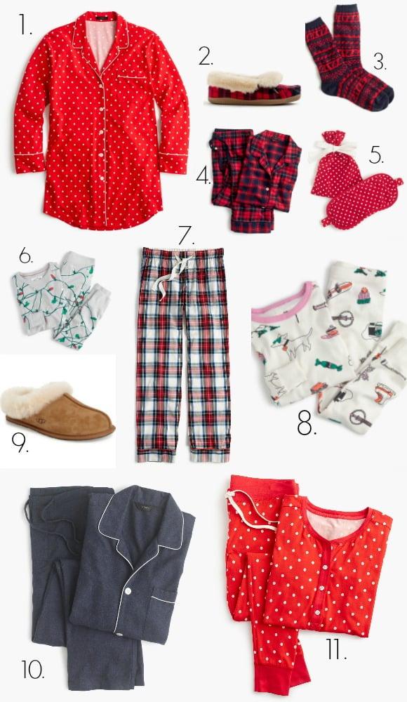 Christmas Pajamas and holiday pajama sets for the family + Cyber Monday