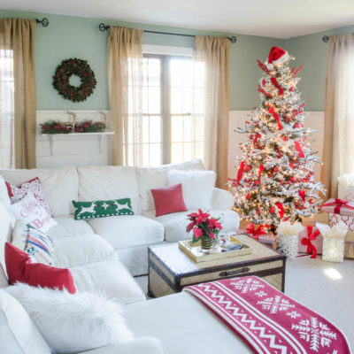 Our Red + White Christmas – Shop the Look