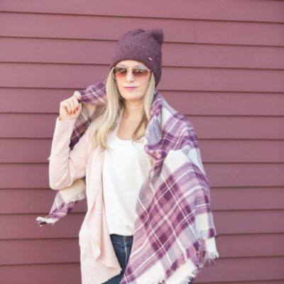 Cozy Winter Layers – Yep your body is your couch!