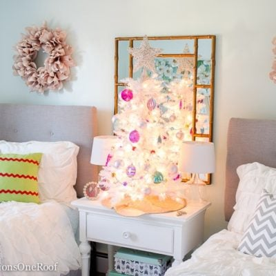 Teenage Girl Christmas Bedroom
