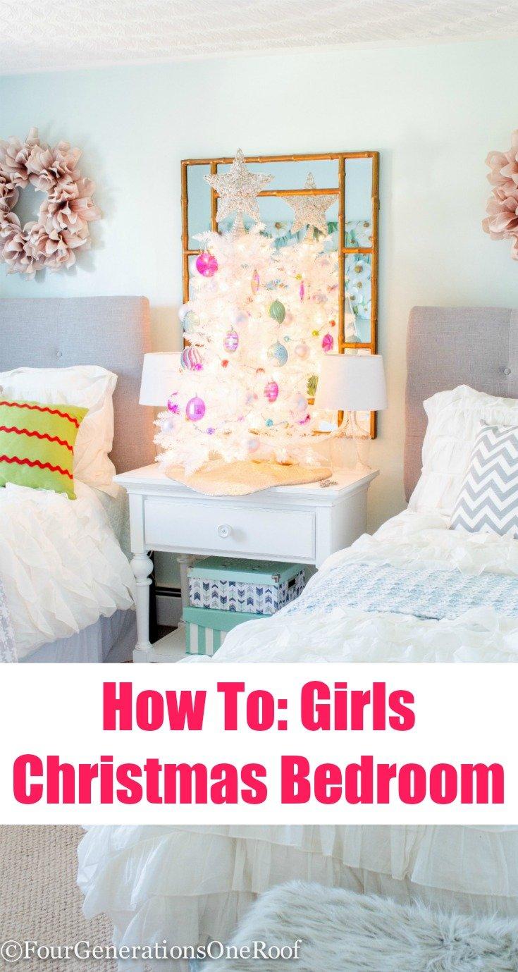 Teenage Girl Christmas Bedroom How To Girls Christmas Bedroom