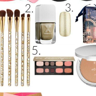 My Favorite Makeup Under $50 {Blush Tones + Gold}