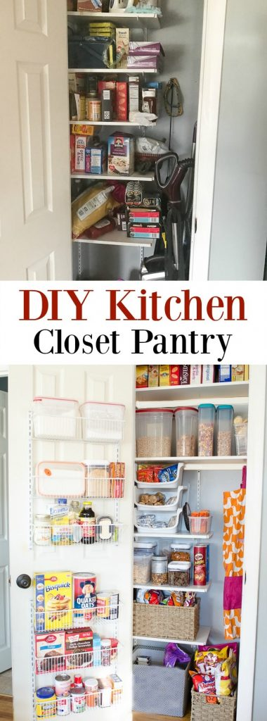 Incroyable DIY Kitchen Closet Pantry. How To Turn A Small Closet Into A Kitchen Pantry  Storage