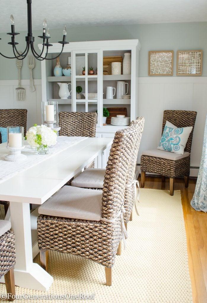 Best of 2016 | Dining Room Makeover {coastal}