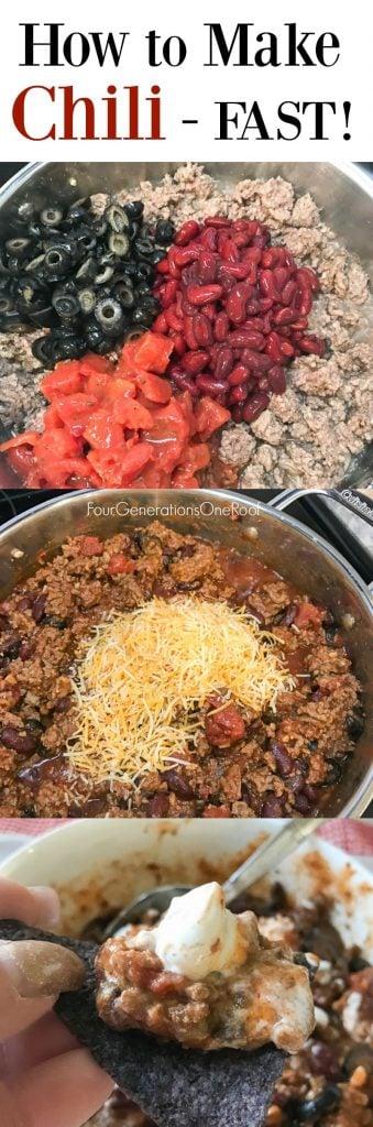 Easy Chili Recipe How to make Chili Fast Easy Recipe