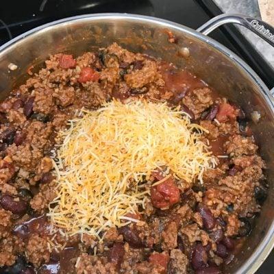 Easy Chili Recipe 8 ingredients