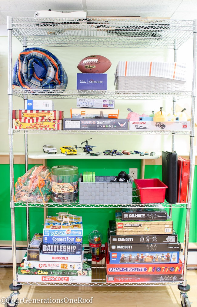 Toy Organization Ideas {Toy Storage Makeover}