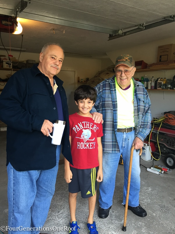 Best of 2016 | gramp dad and tony garage