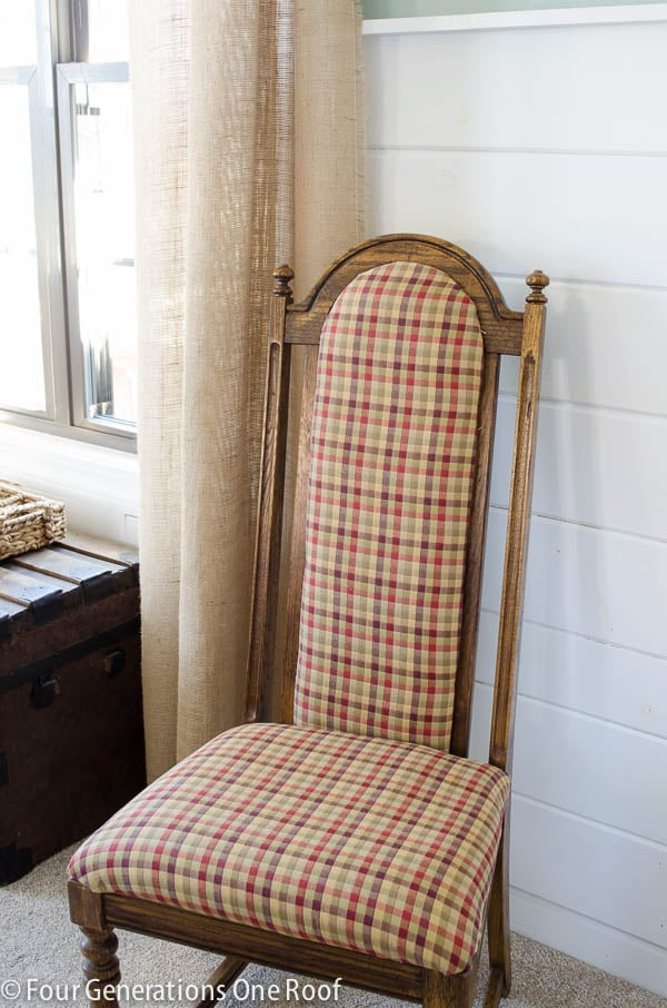 how do you reupholster dining room chairs | Easy DIY Reupholstering Tips and Tricks - Four Generations ...