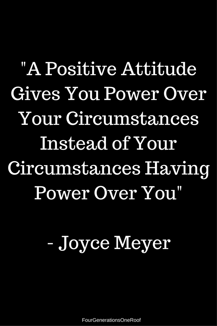 -A Positive Attitude Gives You Power Over Your Circumstances Instead of Your Circumstances Having Power Over You | New Renovation Project | Blog Studio Space