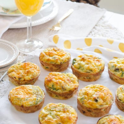 Easy Cottage Cheese Quiche Muffins with Veggies