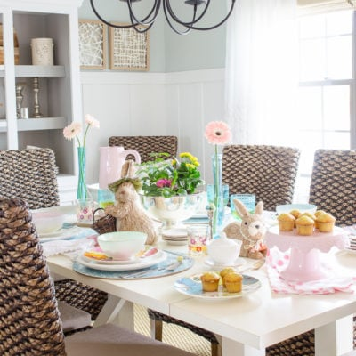 Top 5 Styling Spring Tablescape Tips {Great for Easter too!}