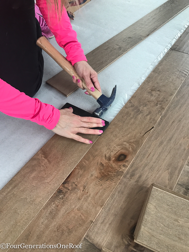 How to install engineered hardwood flooring tips four for How to install wood flooring