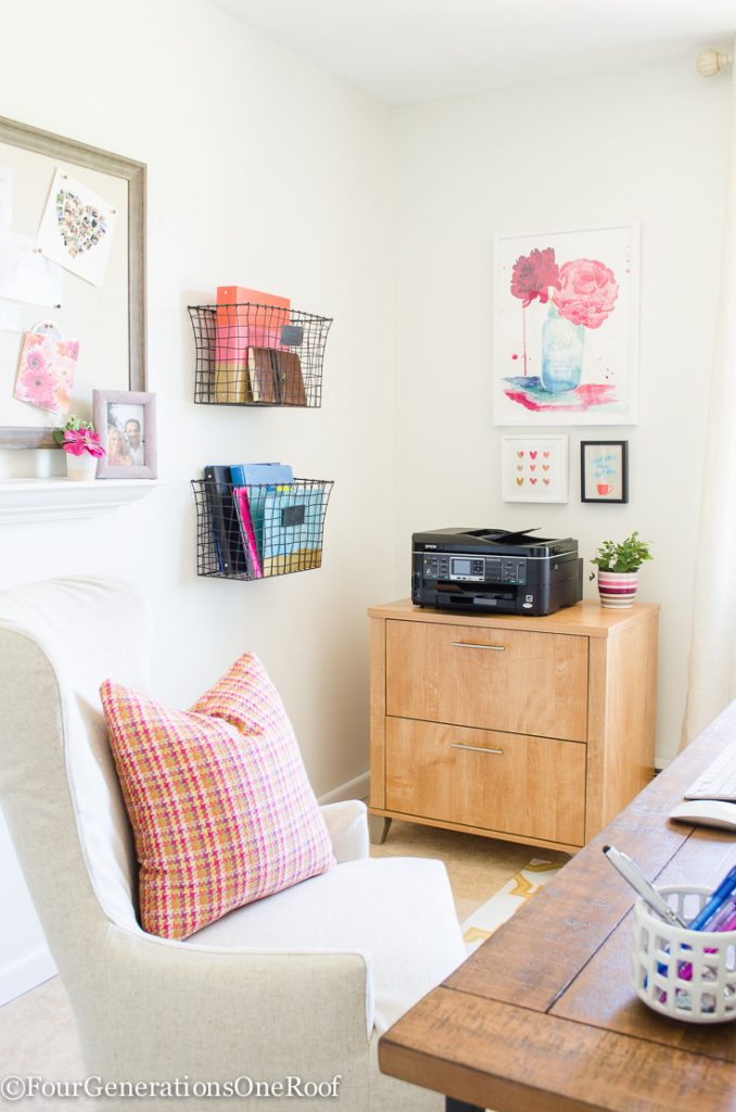 My Colorful Modern Farmhouse Office Decorating Ideas - Four ...