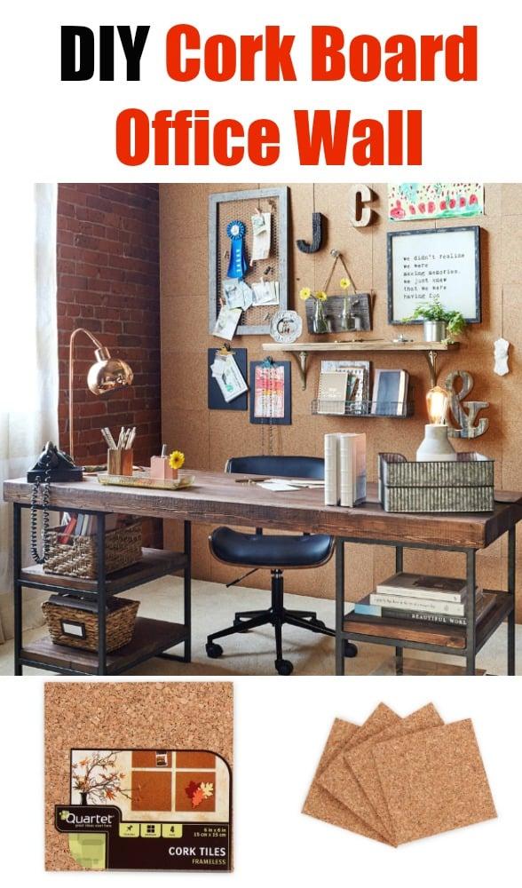 diy cork board office wall video gramps cork board for office79 board