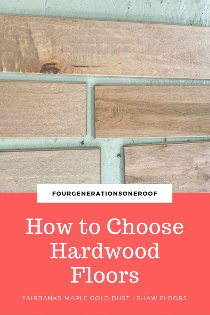 BEST tips for choosing hardwood flooring (new family room project)