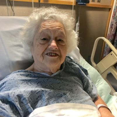 Prayers for my grandmother – Cancer Sucks