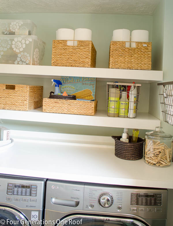 5 easy ways to utilize shelves for storage