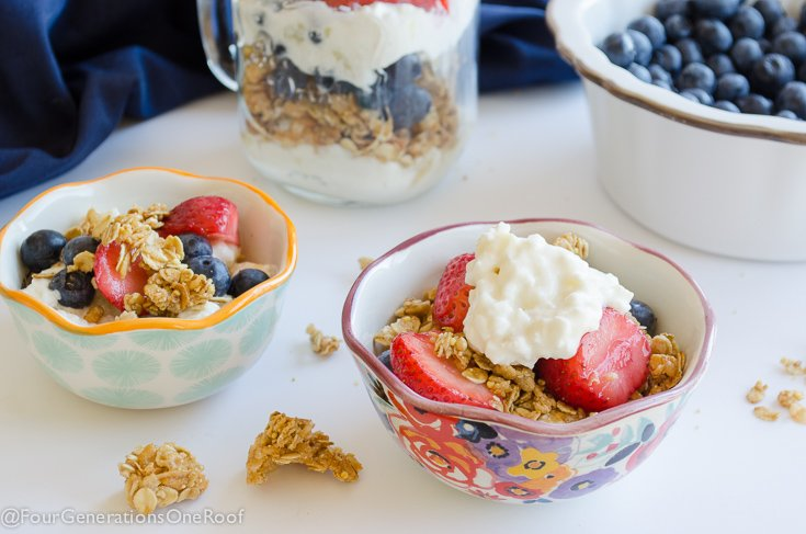 4 Breakfast Ideas: Good Cottage Cheese Calories