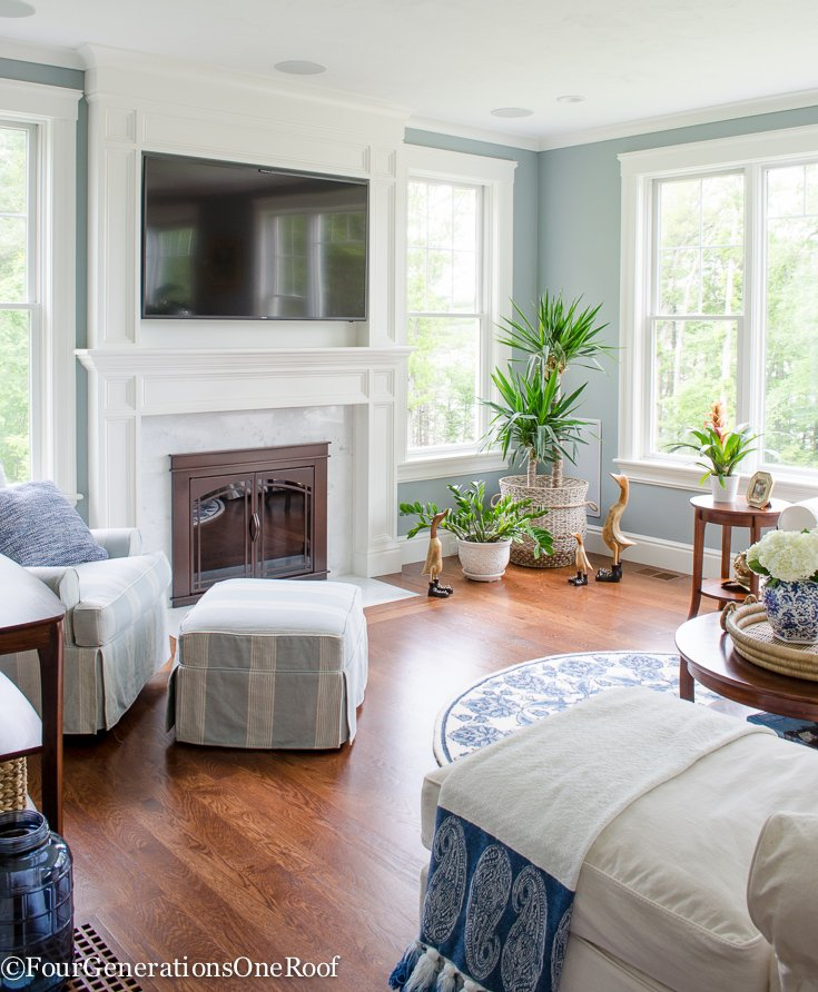Going Coastal Pottery Barn Part I: Coastal Pottery Barn Living Room On A Budget