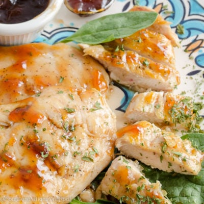 Kid-Friendly Orange Glazed Chicken Dinner