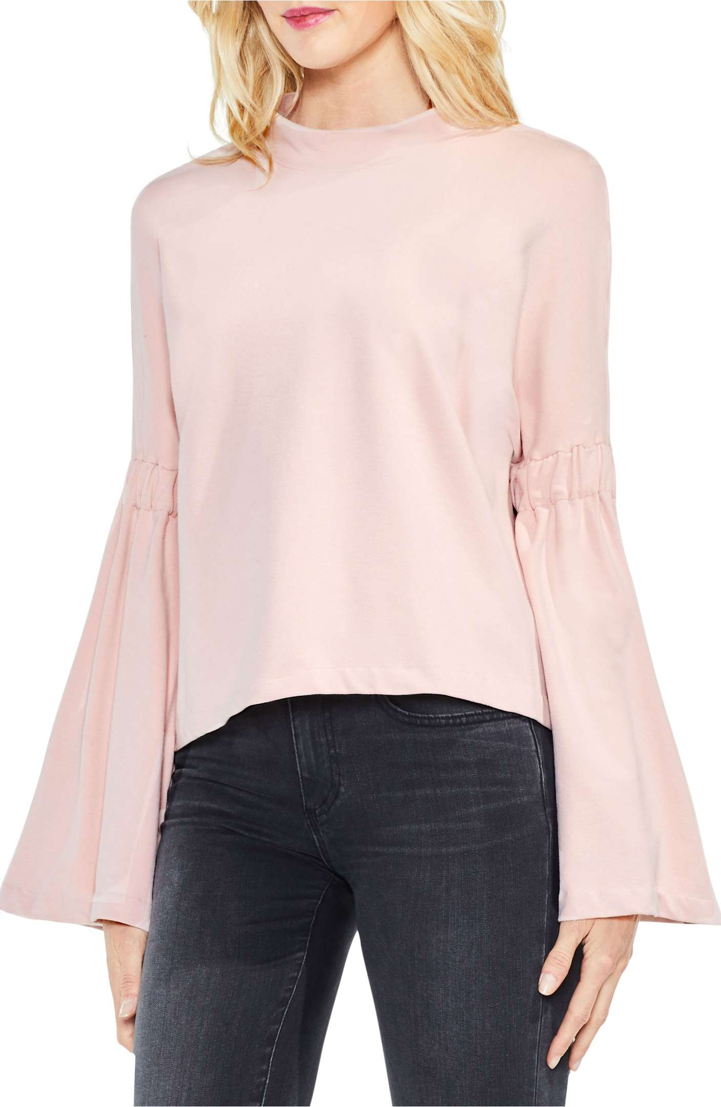 The color blush makes me smile. The most amazing blush tops, jackets and scarves for Fall