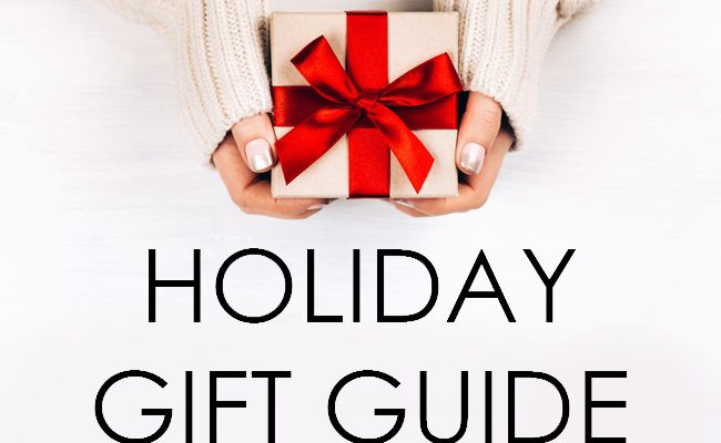 Stylish + Affordable Holiday Gift Guide 2017