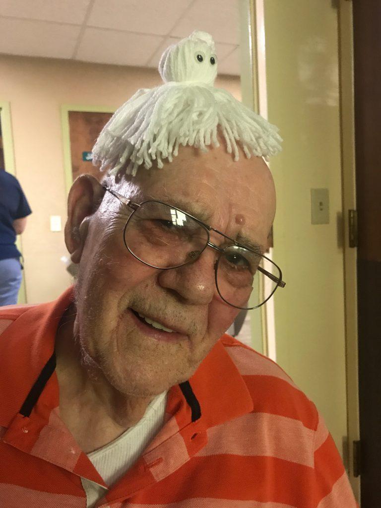 My grandfather on losing my gram