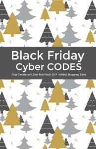 Black Friday + Weekend Sales Shopping Codes