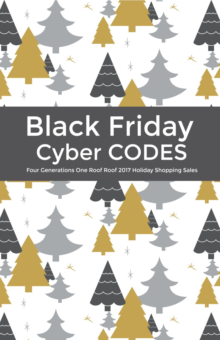 black friday weekend shopping codes four generations one roof. Black Bedroom Furniture Sets. Home Design Ideas