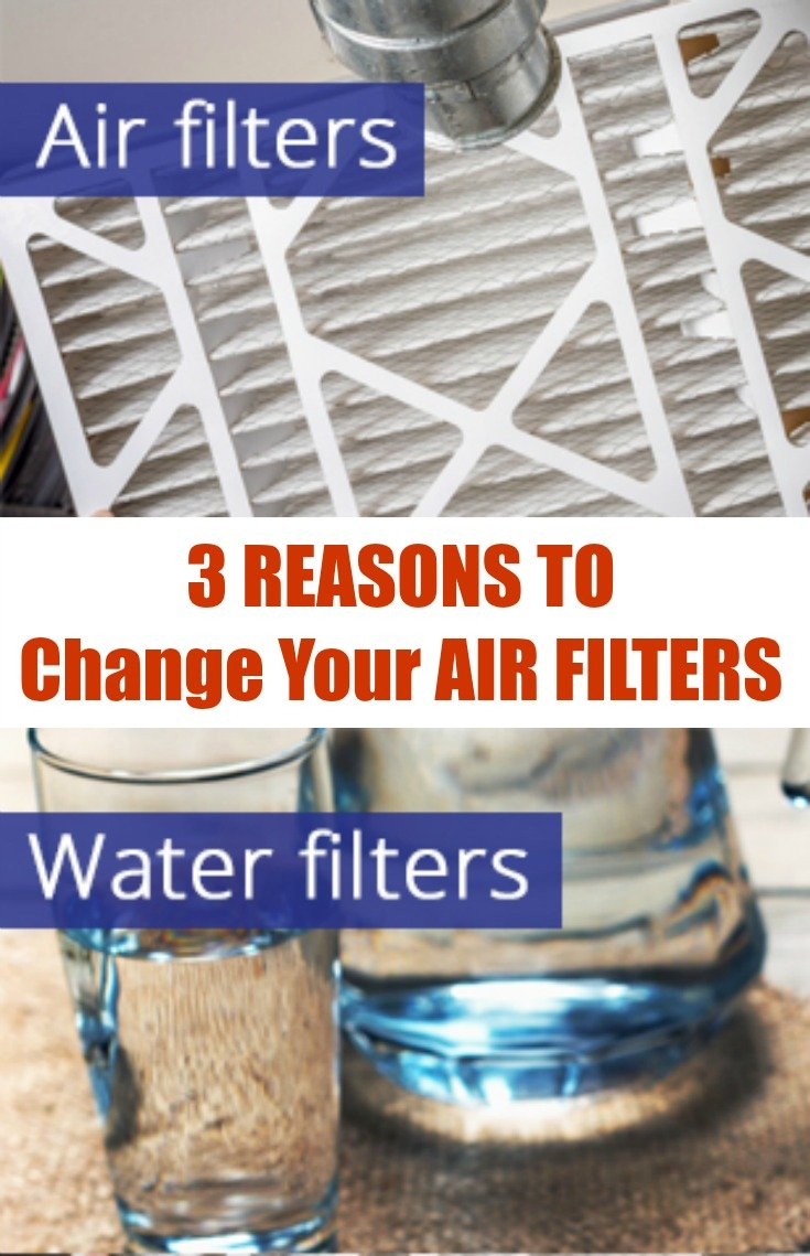 3 Reasons to Change your air filters
