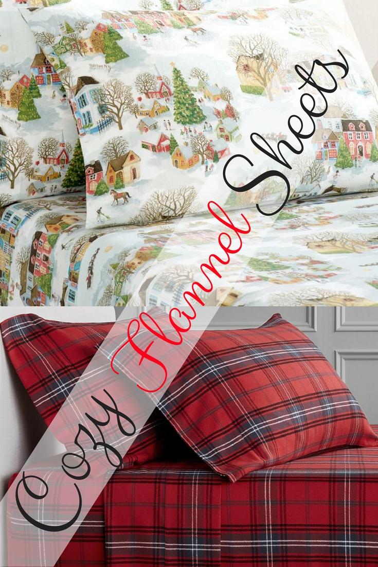 Sleepy Time Favorite Flannel Sheets