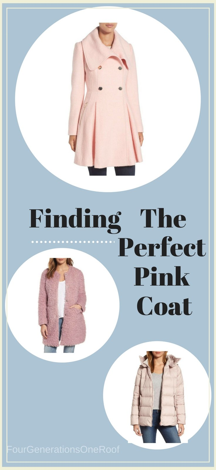 Perfect Pink Coats: Wardrobe Wednesday