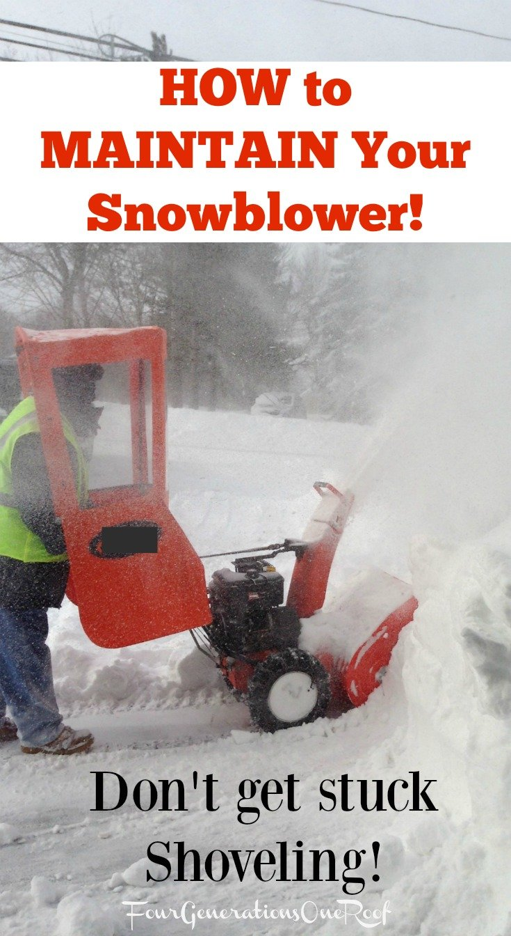 Thank Goodness for the Snowblower: New England Winers how to maintain your snowblower