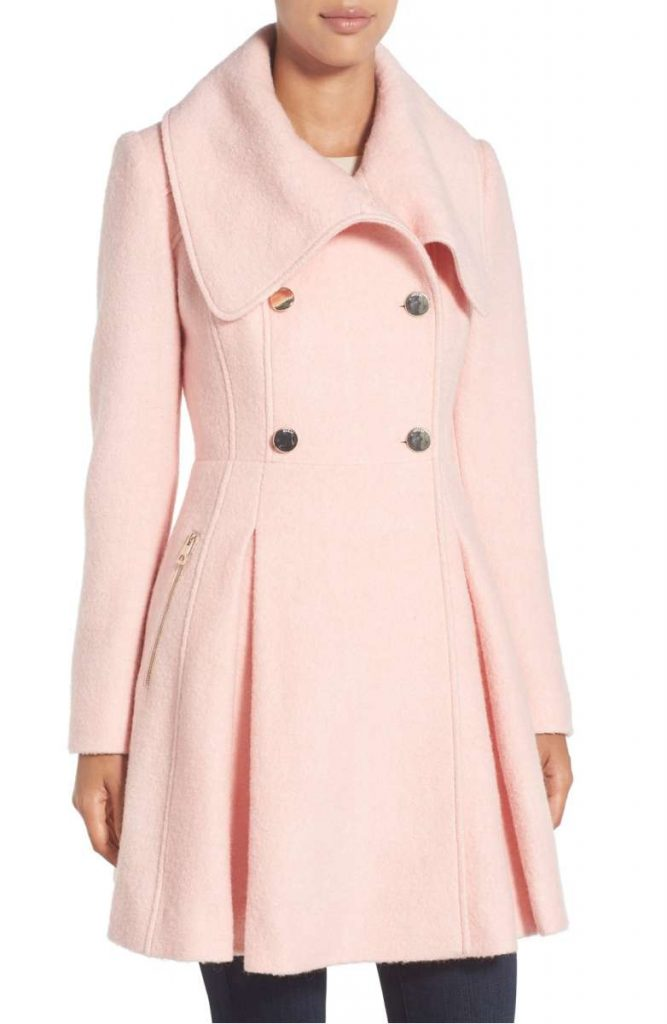 Perfect Pink Coat: Wardrobe Wednesday (on Thursday)