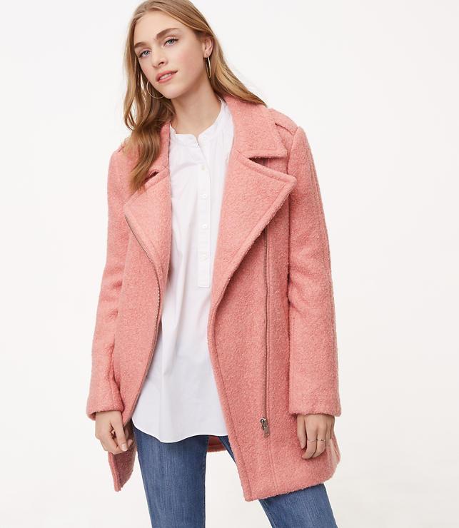 Perfect Pink Coat: Wardrobe Wednesday